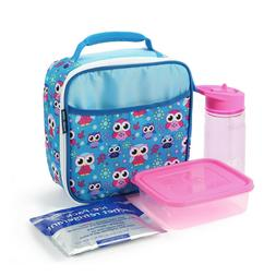 Arctic Zone Lunch Box Owls or Foxes For Kids or Adults