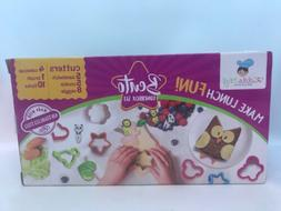 Bento Lunch Box Set For Kids Sandwich Cutters & More New Fre