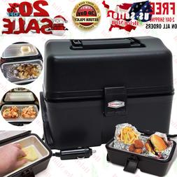 Lunch Box Stove 12V Portable Car Hot Food Warmer Heated Elec