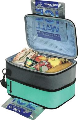 Lunch box with built in ICE Packs by Ultra Arctic Zone - 5 C
