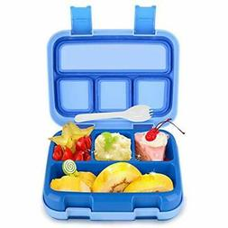 Lunch Boxes Bigger For Kids Boys Bento BPA-Free DaCool Toddl