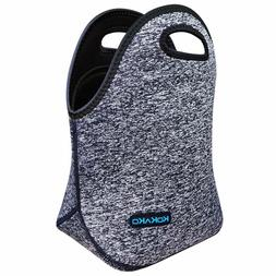 Lunch Boxes Neoprene Small Lunch Bag by KOKAKO Tote Washable