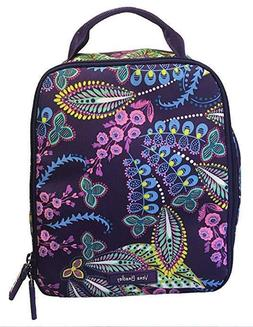Vera Bradley Lunch Bunch in Batik Leaves, Lunch Sack Lighted