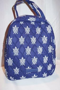 VERA BRADLEY LUNCH BUNCH SEA TURTLES LUNCH BOX TOTE NWT