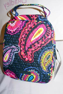 VERA BRADLEY LUNCH BUNCH TWILIGHT PAISLEY LUNCH BOX TOTE NWT
