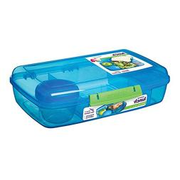 Sistema 41671 Lunch Collection Bento Box Color, Large, Assor