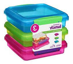 Sistema 41647 Lunch Collection Food Storage containers, Set