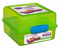Sistema Lunch Cube, Assorted Colors, 1.4 Liter