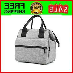 Srise Lunch Box Insulated Lunch Bag For Men &Women Meal Prep