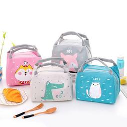 Lunch Pack Bag Sandwich Box Bags Cool Insulated Bag School K