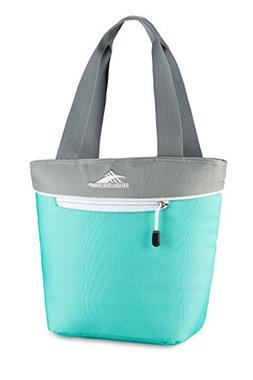 High Sierra Lunch Tote, Aquamarine/Ash/White