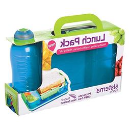 Sistema Lunch Pack with Snack Attack Duo and Twist 'N' Sip B
