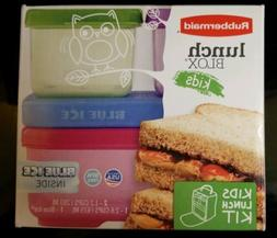 Rubbermaid LunchBlox Kids Lunch Kit  Microwave, Dishwasher &