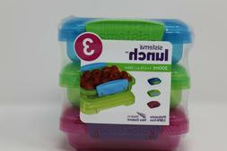 Sistema - Lunchbox 3 piece Set - 200 ml  BPA & Phthalate FRE