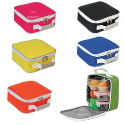 LUNCHBOX COOLER BAG FRUIT SANDWICH INSULATION FOOD BOX TRAVE