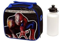 New Marvel Spider-man Lunch Box Bag with Shoulder Strap and