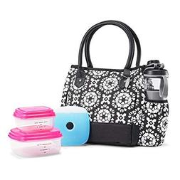 Fit & Fresh McAllen Lunch Bag Kit with BPA-Free Containers a