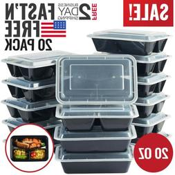 Meal Food Prep Containers Storage Bento Lunch Box Plastic Co