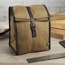 Fit & Fresh Men's Classic Roll Top Insulated Lunch Bag with