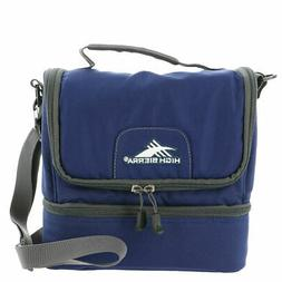 High Sierra Men's Double Decker Lunch Bag Navy/Mercury