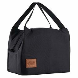 Men Women Insulated Lunch Box Tote Bag Meal Cooler Gym Work