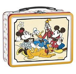 Thermos Metal Mickey Mouse & Friends Tin Lunch Box