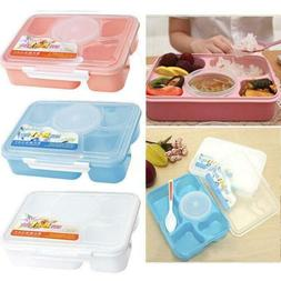 Microwave Bento Lunch Box Picnic Food Container Storage Box