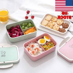 microwave bento lunch box picnic food fruit