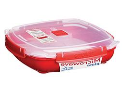 Sistema Microwave Collection Plate with Removable Steaming R