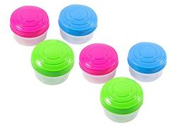 Sistema 3 x 4.39-Ounce Mini Bites To Go Containers, 2-Pack
