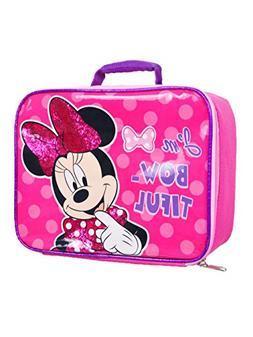 Minnie Mouse Soft Rectangular Insulated Lunch Bag …