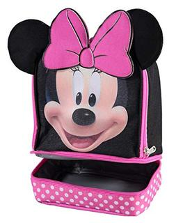 Disney MN29130-SC-BK00 Minnie Mouse Dual Compartment Ears In