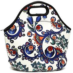 Neoprene Insulated Lunch Bag For Women Cooler Lunch Box For
