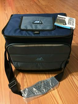 NEW Arctic Zone 36 Can Collapsible Cooler Blue with Microban