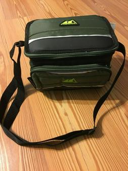 NEW Arctic Zone 6 Can Collapsible Cooler Green with Microban