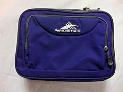 NEW Blue High Sierra Bag Lunch Box Carry On Zipper Close Por
