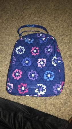 NEW vera bradley campus backpack & lunch box!!