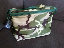 NEW Cool Camo Insulated Lunch Bag Cooler Picnic Travel Food