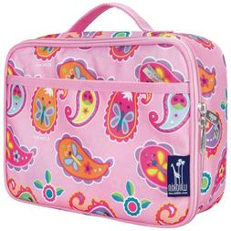 new girls pasiley pink lunchbox bag olivekids