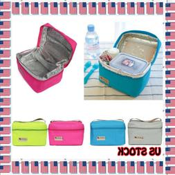 New Lunch Bags Food Picnic Bags Protable Insulated Thermal B