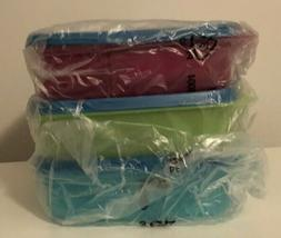 New Tupperware Lunch It Divided Containers AKA Bento Boxes S
