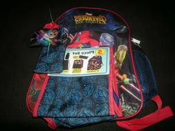 New Marvel Avengers Accessory Innovation Bookbag W Lunchbox,