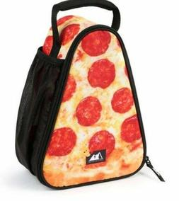 New Arctic Zone Pizza Lunch Box Pepperoni Triangle Shaped Zi