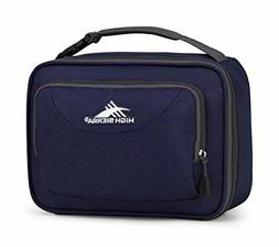 NEW High Sierra Single Compartment Lunch Bag, True Navy/Merc
