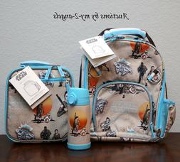 NEW Pottery Barn Kids STAR WARS REY Small Backpack Lunch Box