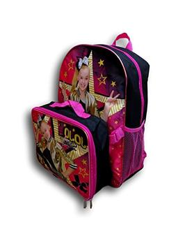"Nickelodeon Girl Jojo Siwa 16"" Backpack With Detachable Matc"