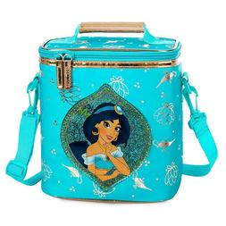 nwt disney store jasmine lunch box tote