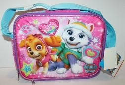 NWT Paw Patrol Everest Skye Insulated Lunch Bag w/Shoulder S