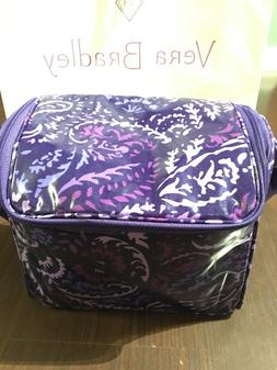 Vera Bradley PAISLEY AMETHYST Stay Cooler Insulated Lunch BA