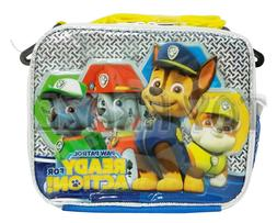 PAW PATROL LUNCH BOX! SILVER READY FOR ACTION INSULATED BAG